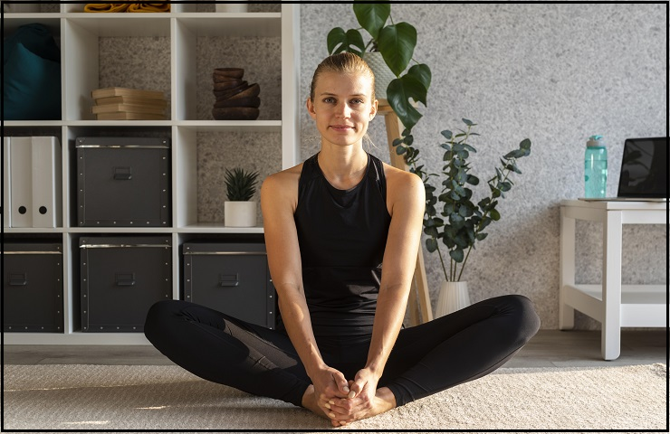 tantric yoga butterfly pose